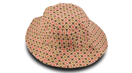 CHAPÉU FASHION TWEED ROSA